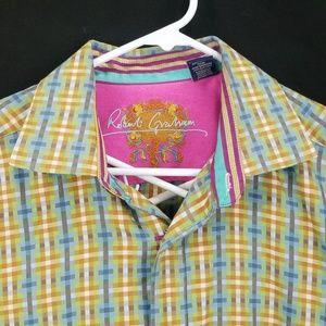 Robert Graham Large Long Sleeve Embroidered ZA14